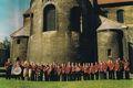 02.06.2001, unser Orchester vor der Liebfrauenkirche